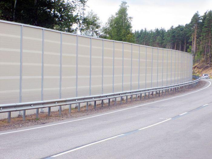 Забор шумозащитный своими руками 35
