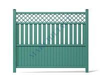Забор из пвх - выбираем материалы и делаем своими руками