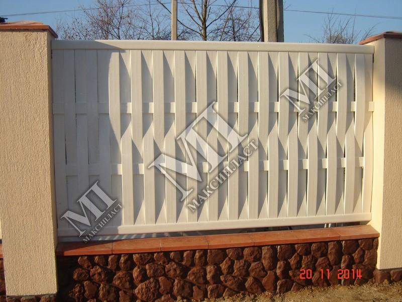 Купить забор из пластика цены заказ на монтаж ворот